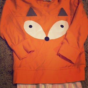 Carter's toddler 2-piece foxy outfit! Gorgeous! XS
